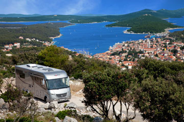 Croatia by camper