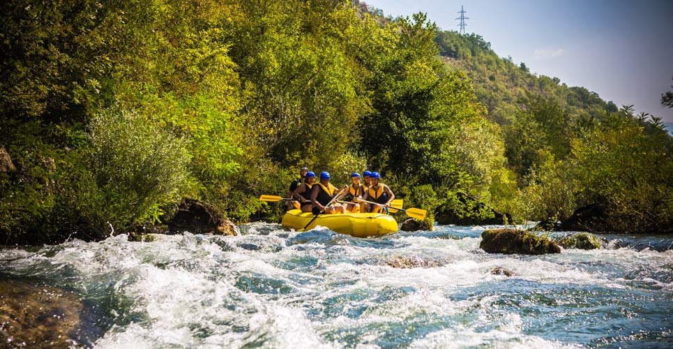 Rafting on the Cetina river - photo