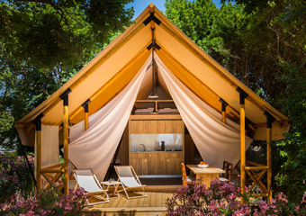 Discover glamping options in Croatia - photo