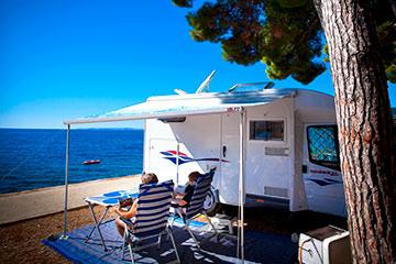 campen mit eigener ausr stung campingverband kroatien. Black Bedroom Furniture Sets. Home Design Ideas
