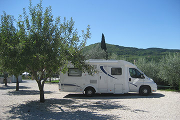 Camping rest area Motovun