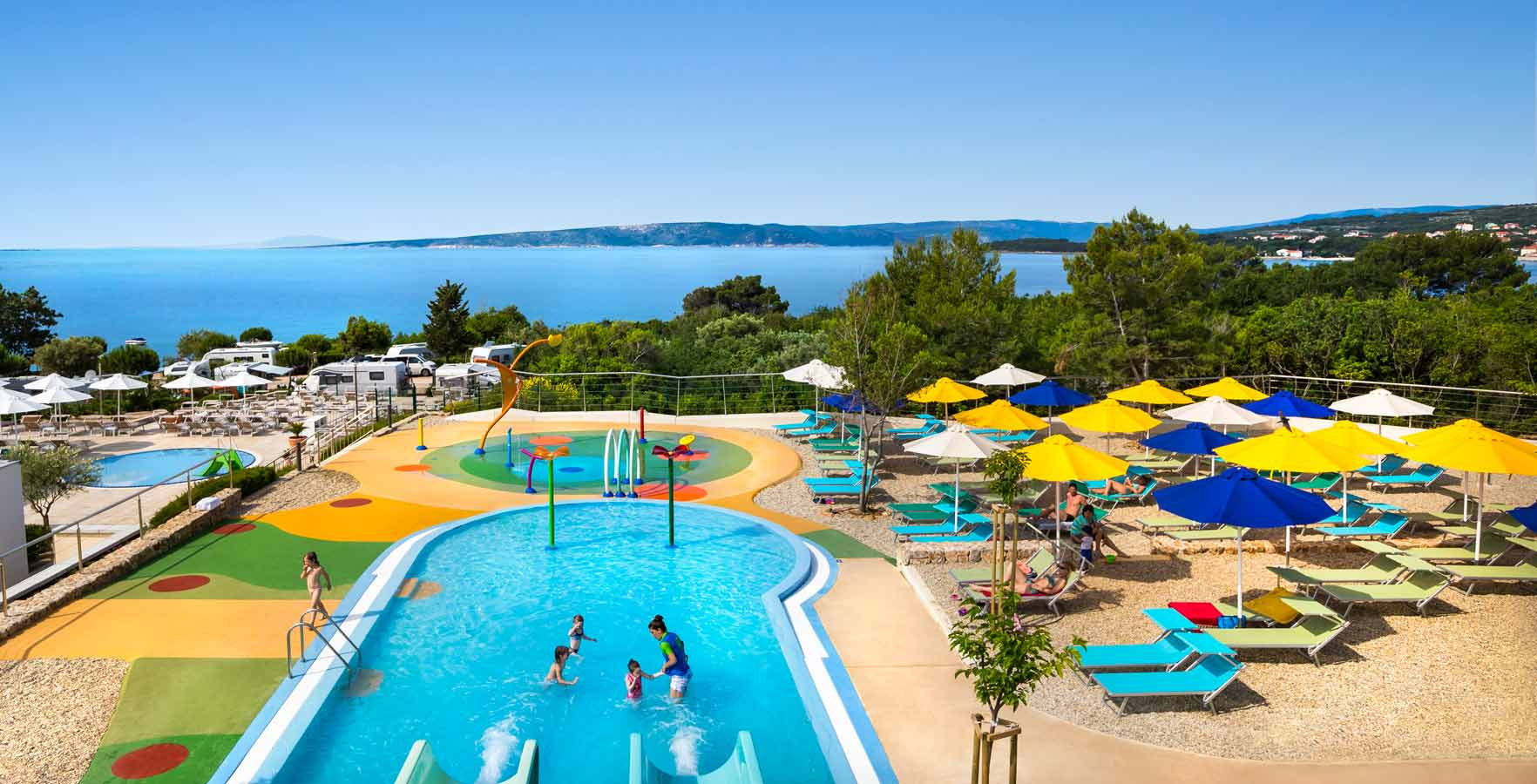 Campsite Krk - swimming pool