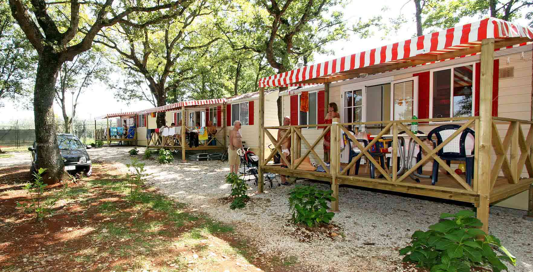 Campsite Ulika - mobile homes