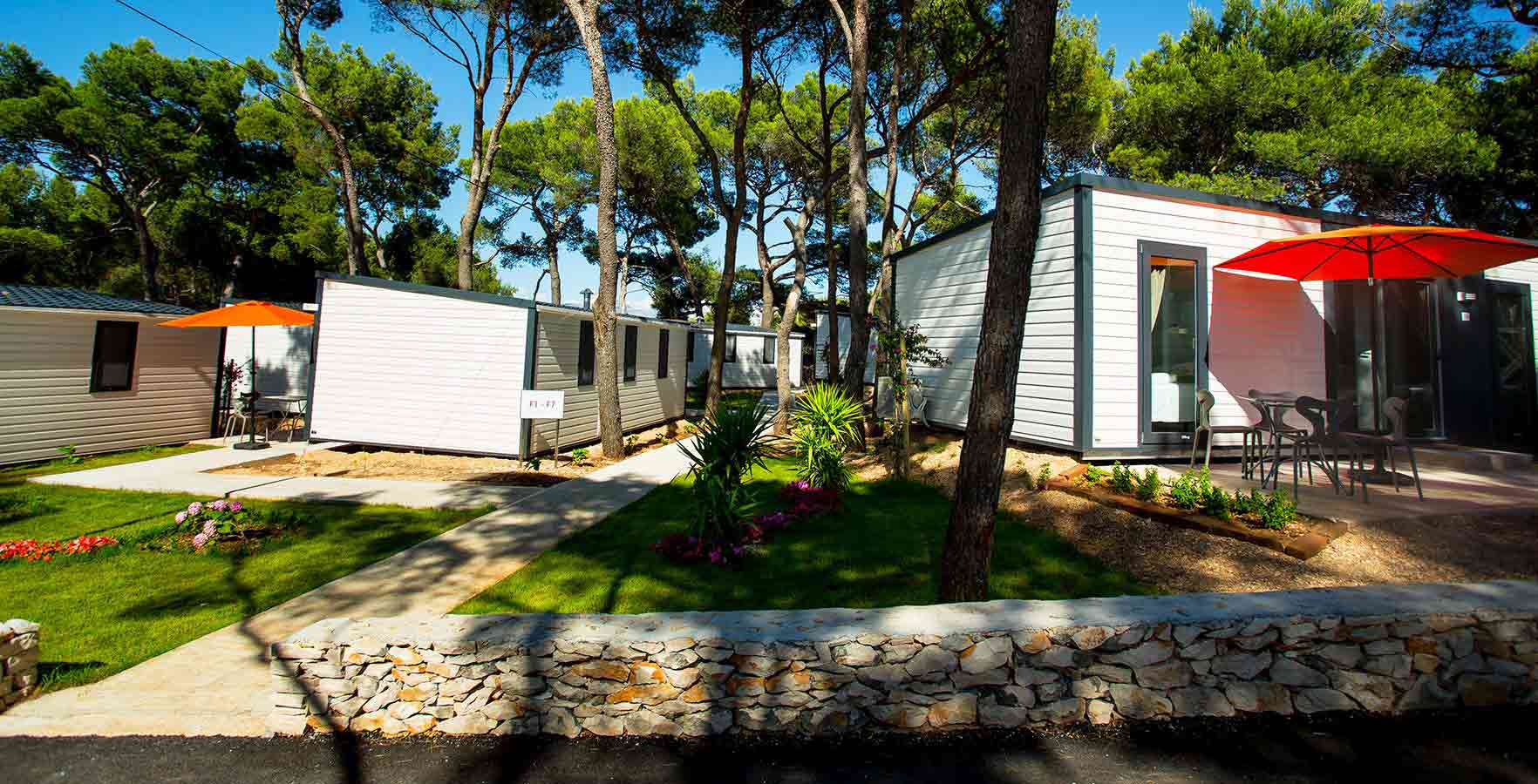Camping Waterman Beach Village - luchtfoto