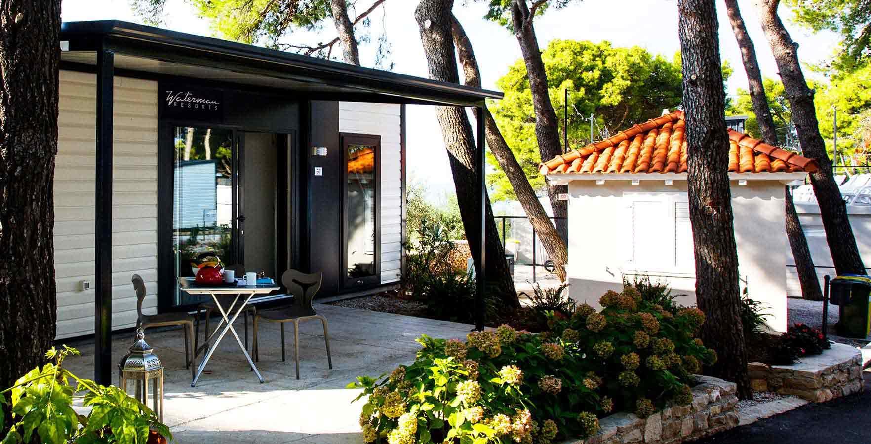 waterman beach village kamping udru enje hrvatske. Black Bedroom Furniture Sets. Home Design Ideas