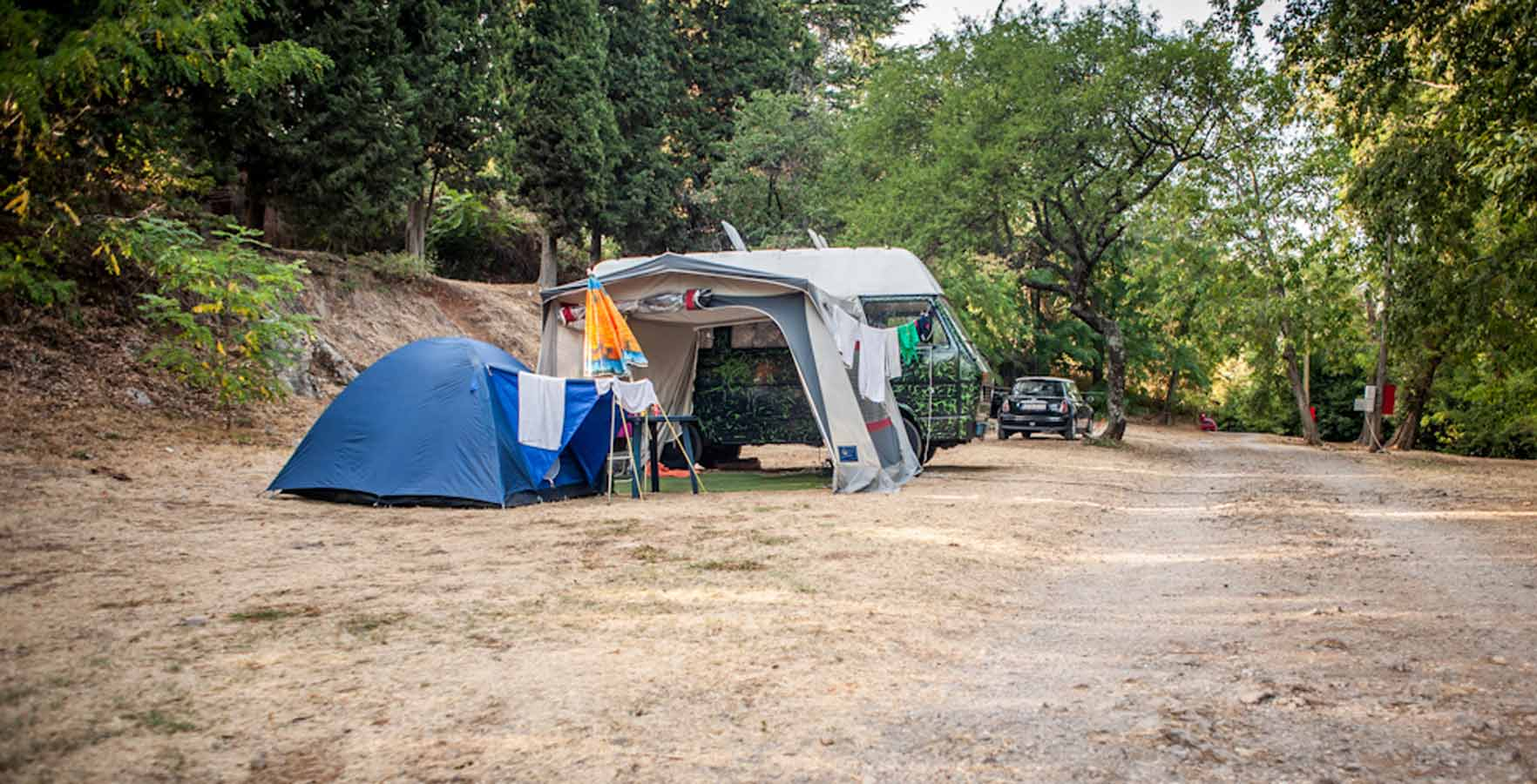 Campsite Opatija - camping in the shade