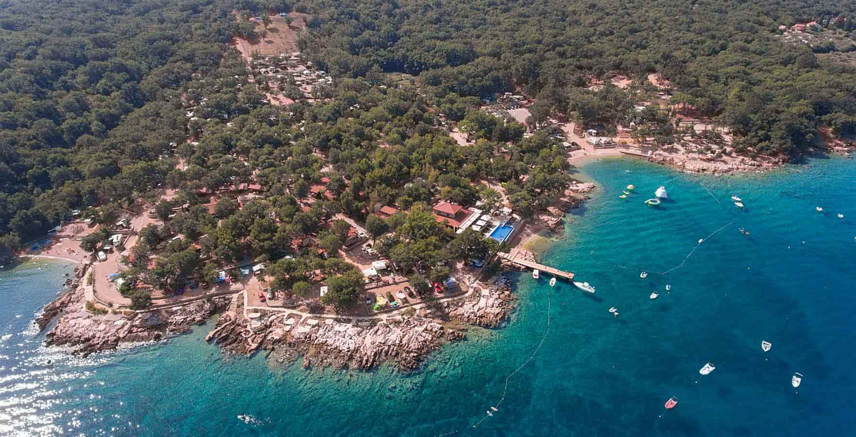Campingplatz Glavotok - Campingverband Kroatien