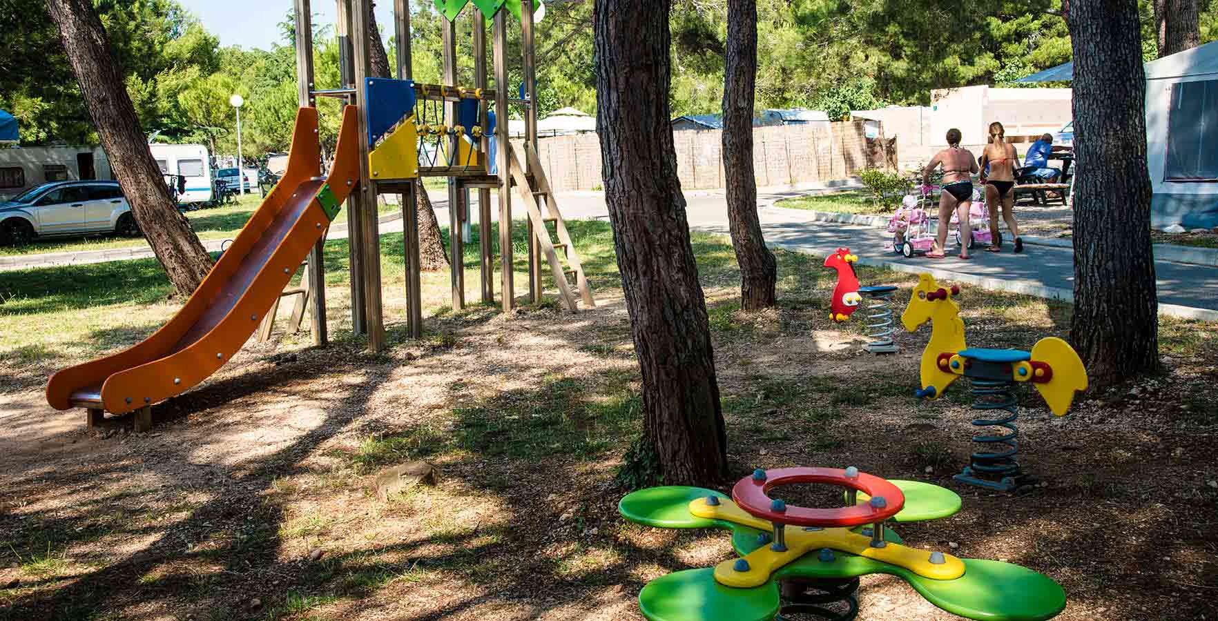 Campsite Pila - children playground
