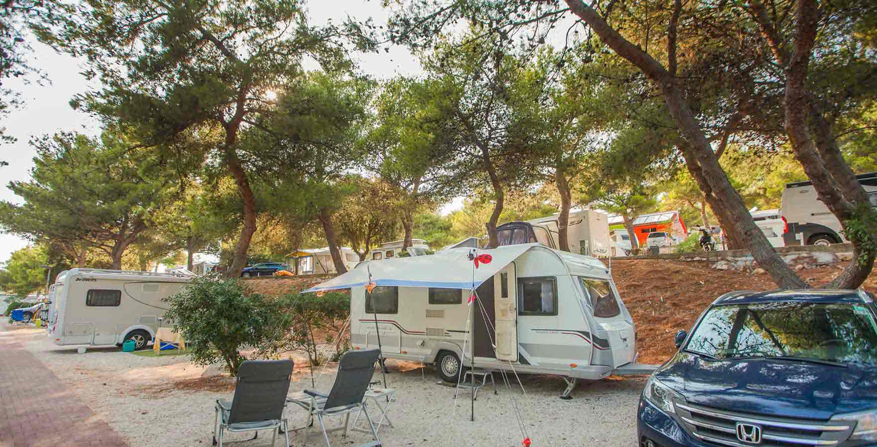 Campsite Belvedere - camping on the sea