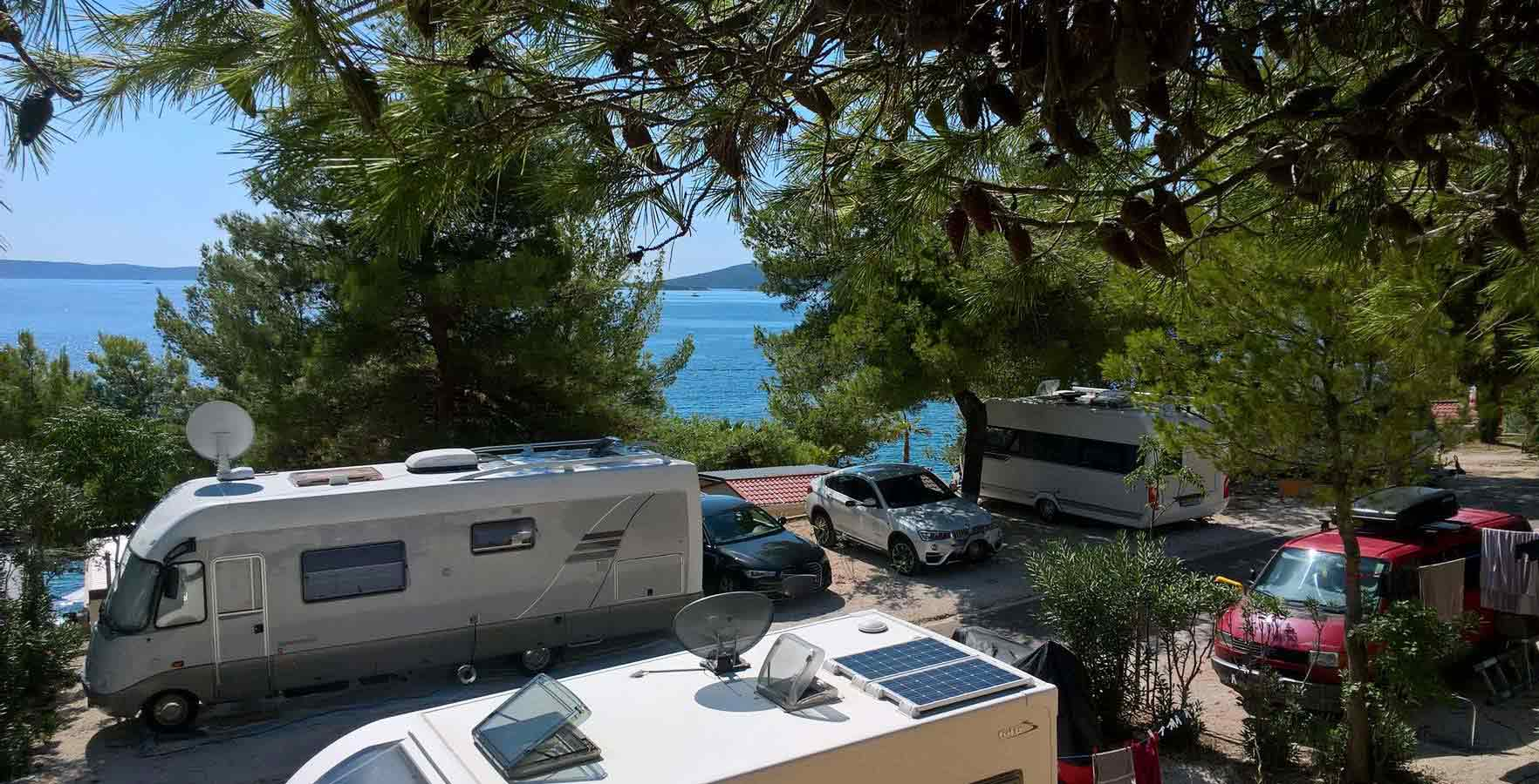 Campsite Belvedere - accommodation in Croatia