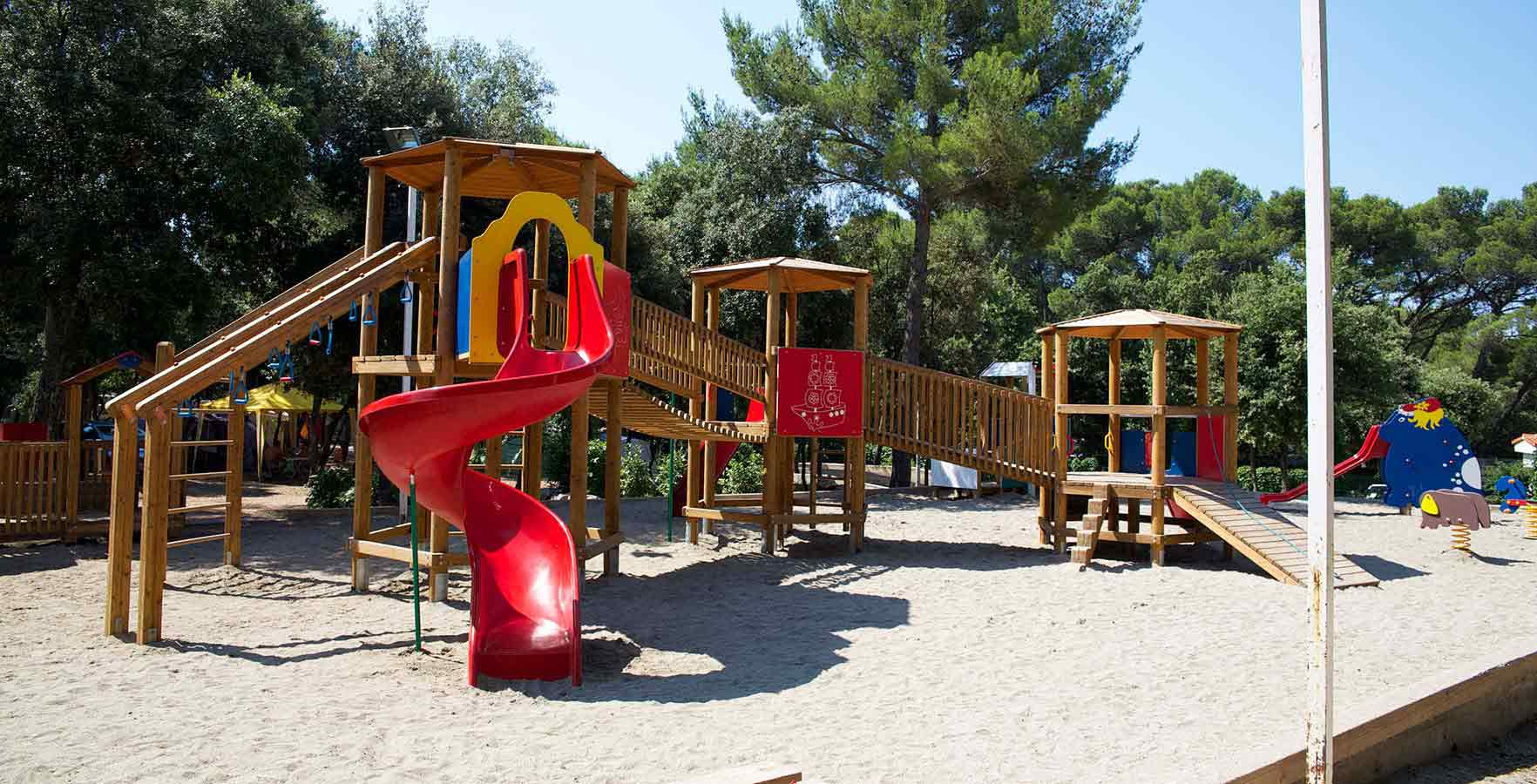 Campsite Park Soline - children playground