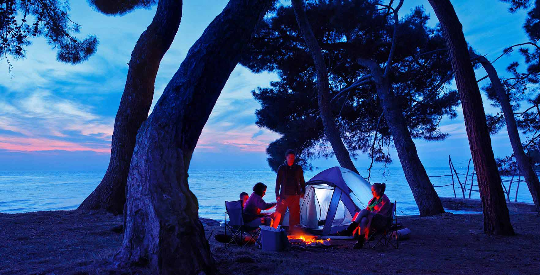 Campsite Pineta - relax on the beach