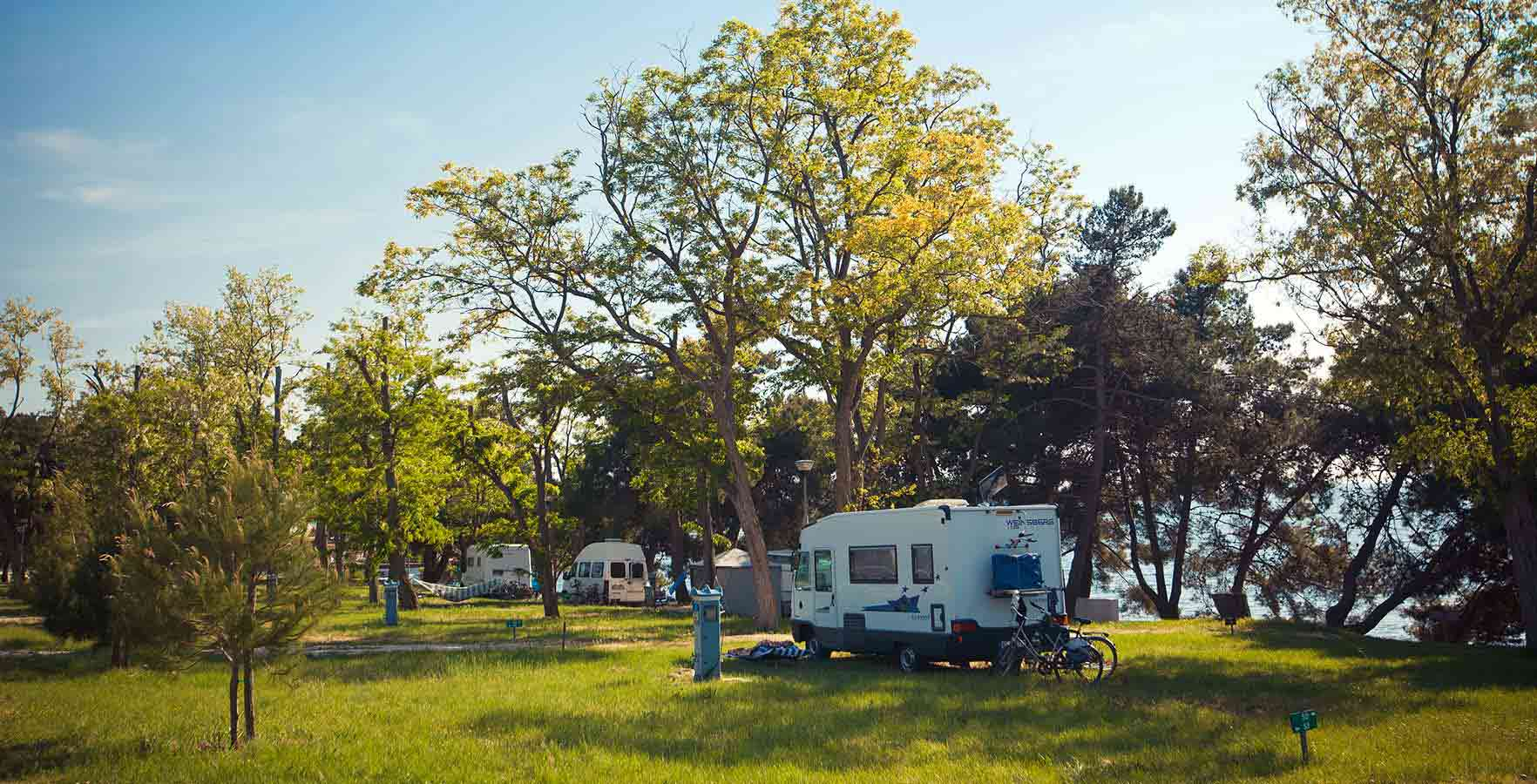 Campsite Pineta - panoramic view