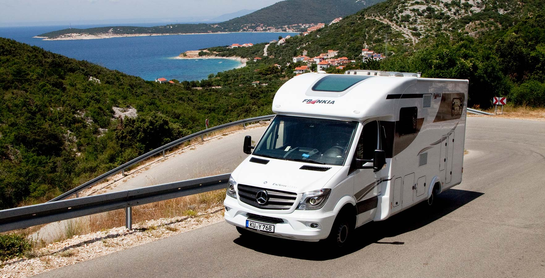 5ac91a41ab Croatia by camper or motor home - Croatian Camping Union - Croatian ...