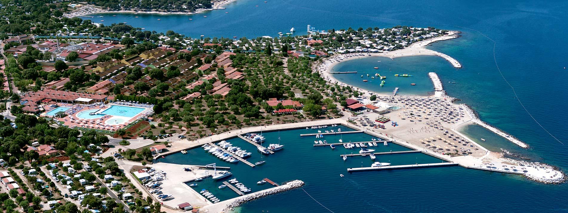 campingplätze kroatien karte Camping Kroatien   das offizielle Camping Portal   Campingverband  campingplätze kroatien karte