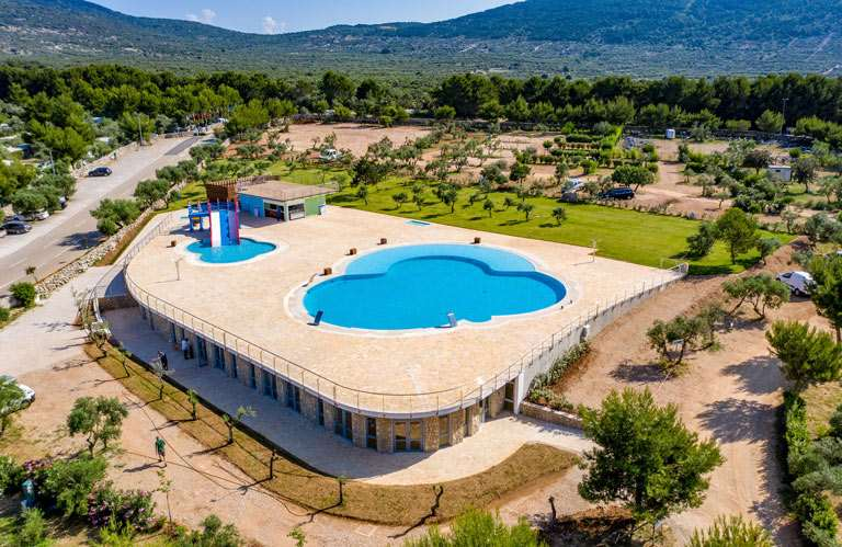 Camping Kovačine - swimming pool