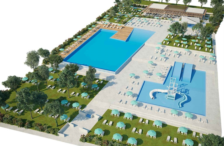 Camping Park Umag - New pool 2020