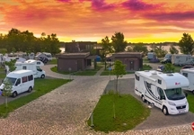Campsite Zagreb - panoramic view