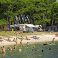 Campsite Stoja - pebble beach