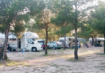 Campeggio Krka - camping all'ombra
