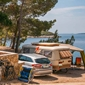 Camp Slatina - pitches by the sea