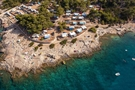 Naturist Camping Nudist - aerial view
