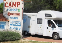 Mini-camping Marina - entrance