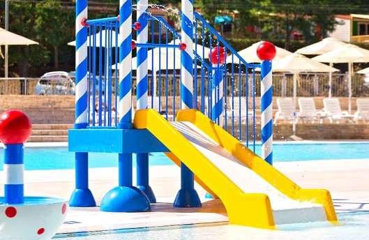 Campsite Bijela Uvala - new swimming pool