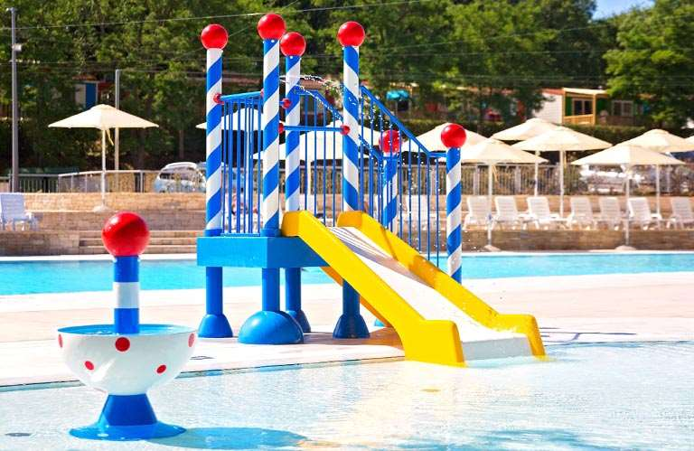 Campsite Bijela Uvala - new swimming pool