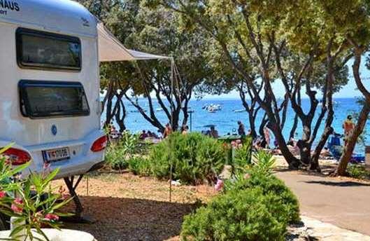 Campsite Straško - camping on the sea