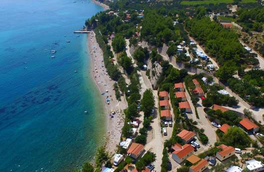 Campsite Nevio - camping on the sea